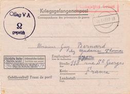 Carte Oflag V A 1943 - Marcophilie (Lettres)