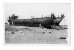 LANGRUNE-Sur-MER -pèniche De Dèbarquement èchouèe En Juin 1944 - Autres Communes