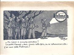 Buvard FULMEN La Pile FULMEN La Plus Durable Le Petit Poucet, Illustré Par Saint Ogan - Accumulators