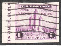 United States - Scott #731a Used - United States