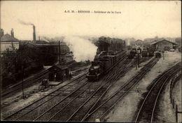 35 - RENNES - Intérieur De La Gare - Rennes
