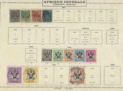 Colonie Anglaise, Afrique Centrale ( British Central Africa ) TB - Grande-Bretagne (ex-colonies & Protectorats)