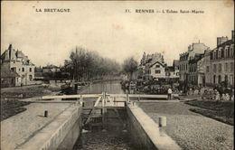 35 - RENNES - écluse Saint Martin - Rennes