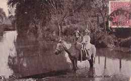 Children Going To School. Carte-photo Très RARE - Australie