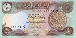 Iraq P.68  1/2 Dinars 1985 Unc - Iraq