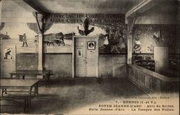 35 - RENNES - Foyer Jeanne D'Arc - Abri Du Soldat - Fresque Des Poilus - Rennes
