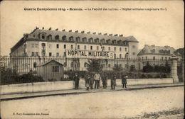35 - RENNES - Faculté Des Lettres - Hopital Temporaire N°5 - Hopital Militaire - Rennes