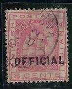 Colonie Anglaise, Guyane Service N° 10 Oblitéré TB - Guyana Britannica (...-1966)