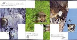 CROATIA - HRVATSKA  - EAGLE - BEAR - MEDITERR. SEAL - 3 MC - 2011 - Eagles & Birds Of Prey