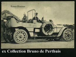"Bad Homburg V.d.H. 1905 (11.9.) Color-Litho-Präge-Ak.: ""Kaiser-Parade Am 8. Sept.1905"" (Truppenparade, Kaiserpaar Etc.)  - Unclassified"