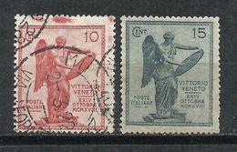 Italia_1921_Aniversario De La Victoria Del Véneto. - Usados
