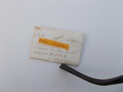 LETTRE AUTOGRAPHE XVIIIe 1792 AN I De La République Famille Noble Dulau Celettes Mansle Charente De Madame De Beauregard - Marcophilie (Lettres)