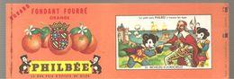 Buvard PHILBEE Fondant Fourré Orange N°14 Richelieu à La Rochelle - Gingerbread