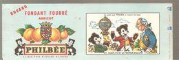 Buvard PHILBEE Fondant Fourré Abricot N°23 LOUIS XVI ET LE PREMIER BALLON - Gingerbread