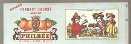 Buvard PHILBEE Fondant Fourré Abricot N°22 LA REUNION DE LA CORSE A LA FRANCE - Gingerbread
