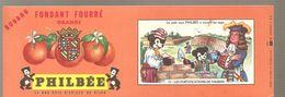 Buvard PHILBEE Fondant Fourré Orange N°17 LES FORTIFICATIONS DE VAUBAN - Gingerbread