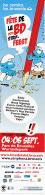 Marque Page Salon BD De BRUXELLES 2015 Pour SCHTROUMPFS - Marque-pages