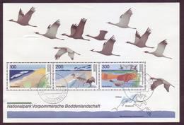 Germania 1996 - Parchi Naturali - BF35 Con Annullo Leggero E Rotondo - Usati