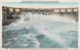 DESAGUE DE GATUN, CANAL DE PANAMA - CIRCA 1960S. - BLEUP - Panama