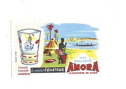 Buvard Moutarde Amora Le Gobelet Equateur - Mostard