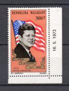 MADAGASCAR PA N° 132  NEUF SANS CHARNIERE  COTE  4.20€ PRESIDENT KENNEDY - Madagascar (1960-...)