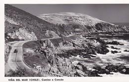 VIÑA DEL MAR, CAMINO A CONCON. PANORAMA. CHILE/CHILI - CIRCA 1960S. - BLEUP - Chili