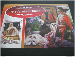 Guinea Guinee 2017 Lunar New Year Of Dog - Postzegels