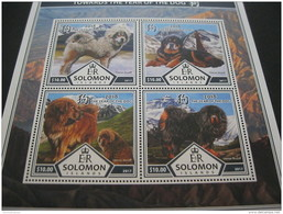 Solomon Islands 2017 Lunar New Year Of Dog - Postzegels