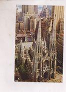 CPM ST  PATRICK S CATEDRAL , NEW YORK (voir Timbre) - Églises