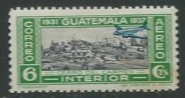 Guatémala - Aérien  - Yvert N°   68 * ( Légère Rousseur Au Dos )     Ava17315 - Guatemala