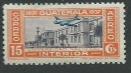 Guatémala -  Aérien   - Yvert N°   70 *    Ava17321 - Guatemala