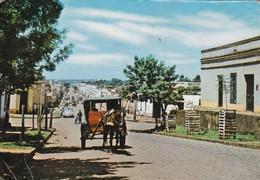 STRET/RUE/CALLE MARISCAL ESTIGARRIBIA, ENCARNACION, PARAGUAY. PANORAMA. - CIRCA 1960S. - BLEUP - Paraguay