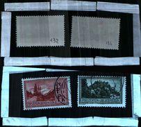 86432) Liechtenstein-1935-VEDUTE DIVERSE-N.132-134-USATI - Liechtenstein