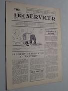The IRC Servicer ( The International Resistance Company ) Monthly Bulletin / Helping Radio Serviceman JUNE 1933 N° II - Littérature & Schémas
