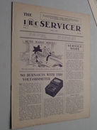 The IRC Servicer ( The International Resistance Company ) Monthly Bulletin / Helping Radio Serviceman JULY 1933 N° III - Littérature & Schémas