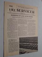 The IRC Servicer ( The International Resistance Company ) Monthly Bulletin / Helping Radio Serviceman 1934 N° VIII - Littérature & Schémas