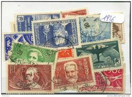 France  Années Completes (o) 1936 (25 Timbres) - ....-1939
