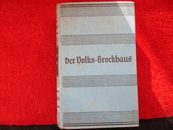 Der Volks Brockhaus / éditions De 1941 - Wörterbücher