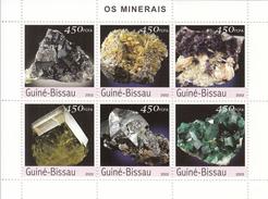 2003 Guine Guinea Bissau  Minerals Souvenir Sheet MNH   FRACTION OF FACE VALUE - Minerali
