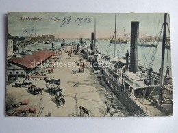 DANIMARCA Danmark COPENAGHEN København Rheden Ship Old Postcard - Danimarca