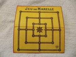 JEU DE MARELLE ANCIEN EN CARTON DANS SA BOÎTE D'ORIGINE Avec JETONS ( 18 )  -  ASSEZ RARE  -  VOIR SCANS - Autres