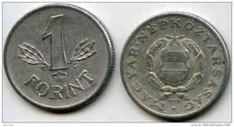 Hongrie Hungary 1 Forint 1976 KM 575 - Hongrie