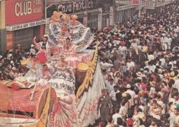 CARROZA/FLOAT LA POLLERA. CARNAVAL/CARNIVAL. PANAMA - CIRCA 1960S. - BLEUP - Panama