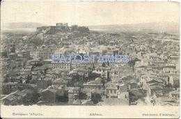 80765 GREECE ATHENES VIEW PANORAMA POSTAL POSTCARD - Griechenland