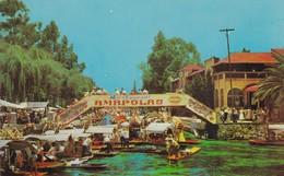 LAGO/LAKE/LAC DE XOCHIMILCO, MEXICO - CIRCA 1960S. - BLEUP - Mexico