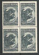 Toro 20c Azul Gris Fil Sol ** - Unused Stamps