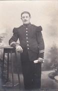 51 CAMP De CHALON  CPA PHOTO  Militaria  SOLDAT 106° Régiment En 1912 Scan Dos - Régiments