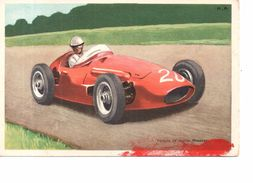 Voiture De Course Maserati - Italie - ( Publicite Chocolats Tobler ) - Sport Automobile