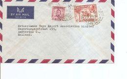 Iraq ( Lettre Par Avion De 1954 De Bagdad Vers Les Pays-Bas à Voir) - Iraq