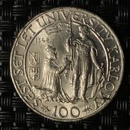 Tschechoslowakei - CZECHOSLOVAKIA 100 Korun Silber 1948 - Czechoslovakia
